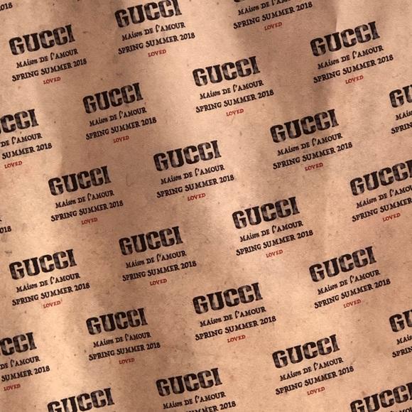 Gucci Spring Summer 2018 Garment Dust Bag